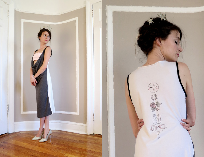 made-in-NYC loungewear by she and reverie ~ stars from her fingertips