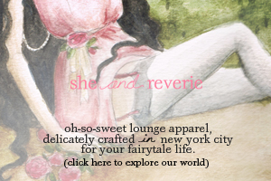 oh-so-sweet lounge apparel, delicately crafted in new york city for your fairytale life