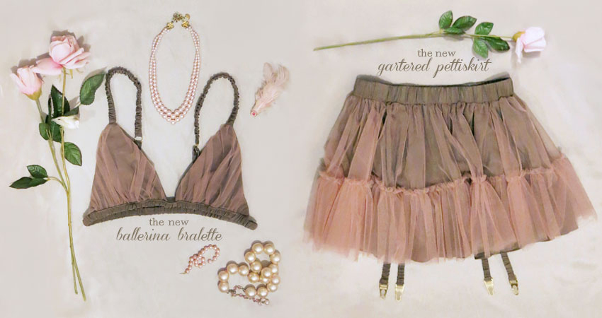 The perfect ballerina-inspired set is now available