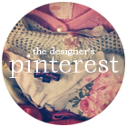 follow our designer on pinterest